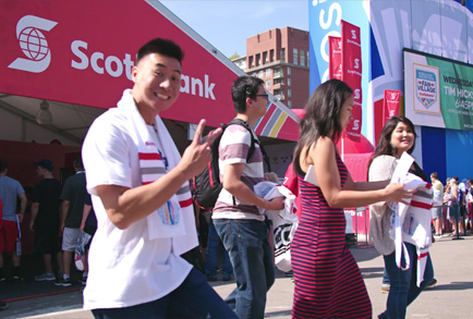 Scotiabank World Cup of Hockey Activation